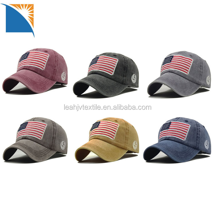 Military Army USA Flag Cap Hat American Cotton Patch Baseball Cap wholesale tactical baseball cap