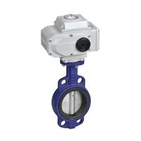 Wafer Type Stainless Steel 1 Inch Electric Actuator Butterfly Valve