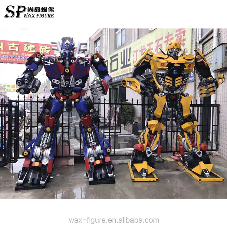 Transformers For Sale >> Hot Sale Outdoor Iron Robot Transformers Statue For Sale Buy Iron Statue Robot Transformer Iron Transformer Statue Product On Alibaba Com