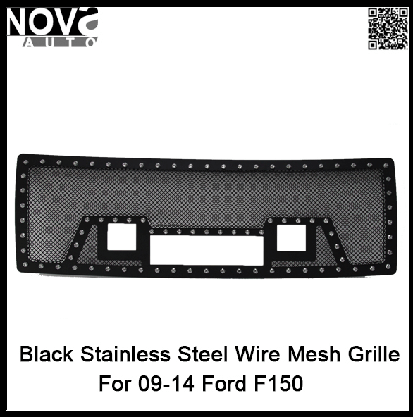 Fits 3PCS LED Lights Front Bumper Position F ord F-Series Grill And Grille