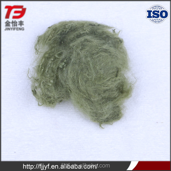 Dope Dyed Recycled Black Polyester Staple Fiber Psf