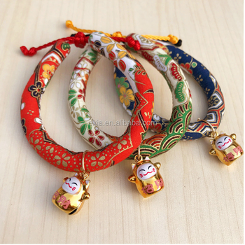 Japanese Style Wind Handmade Pet Cat Collar Collar Necklaces Diy Jewelry Bow Tie Small And Medium Adjustable Buy Handmade Cat Collar Japanese Style