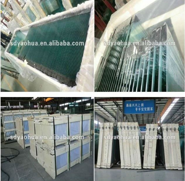 High Quality Tempered double silver Low-E Double Glazing Insulated Glass