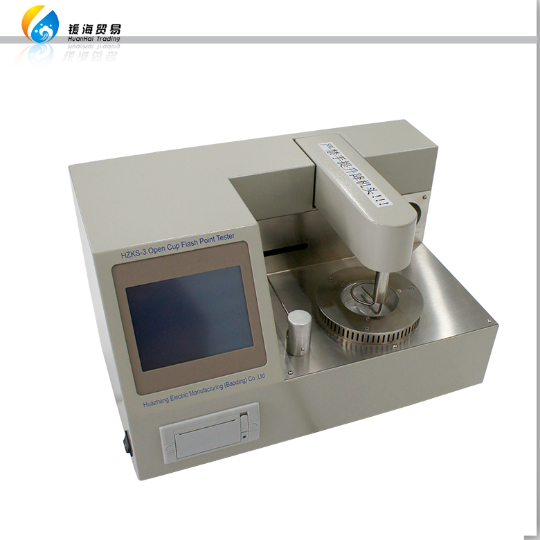 letter of credit of 3536D Automatic Cleveland Open Cup Flash Point Tester