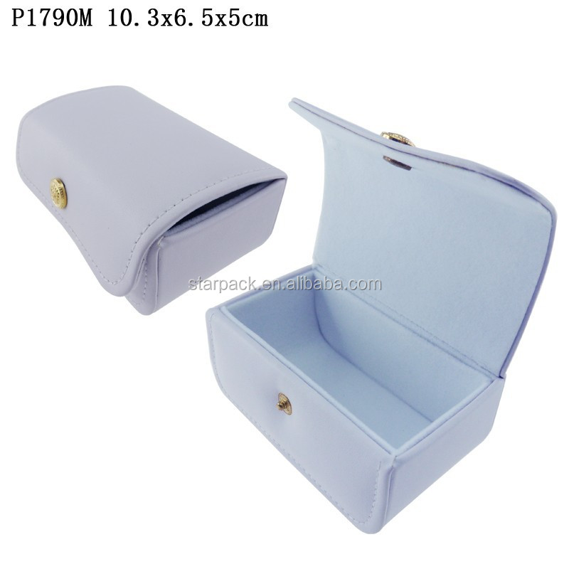 Leather Jewelry Box With Velvet Lining Leather Jewelry Box With