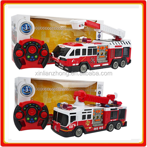 kids rc Rescue fire truck toys