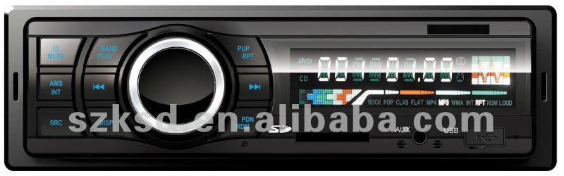 One din car USB/SD/FM digital mp3 player auto radio