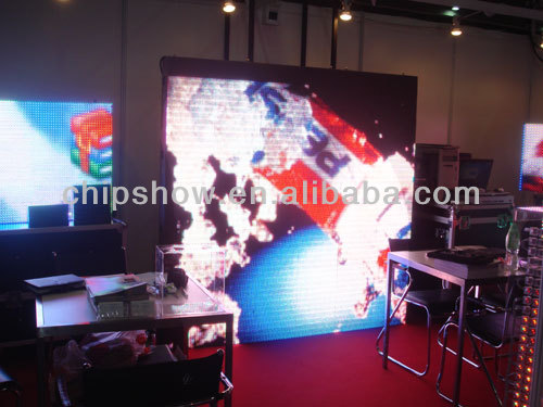 Chipshow P10 electronic outdoor led display board project