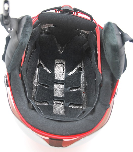 AU-S01 Custom design adult snow sport safety for skiing with goggle ski helmet 11