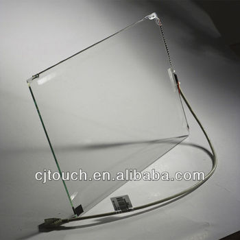 17 inch HID Dustproof Surface Acoustic Wave SAW Touch Screen Panel