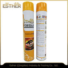 Flame Retardant Fast Cure Fire-Rated Waterproof Polyurethane Expanding Spray High Strength/Foaming Pu Foam Sealant