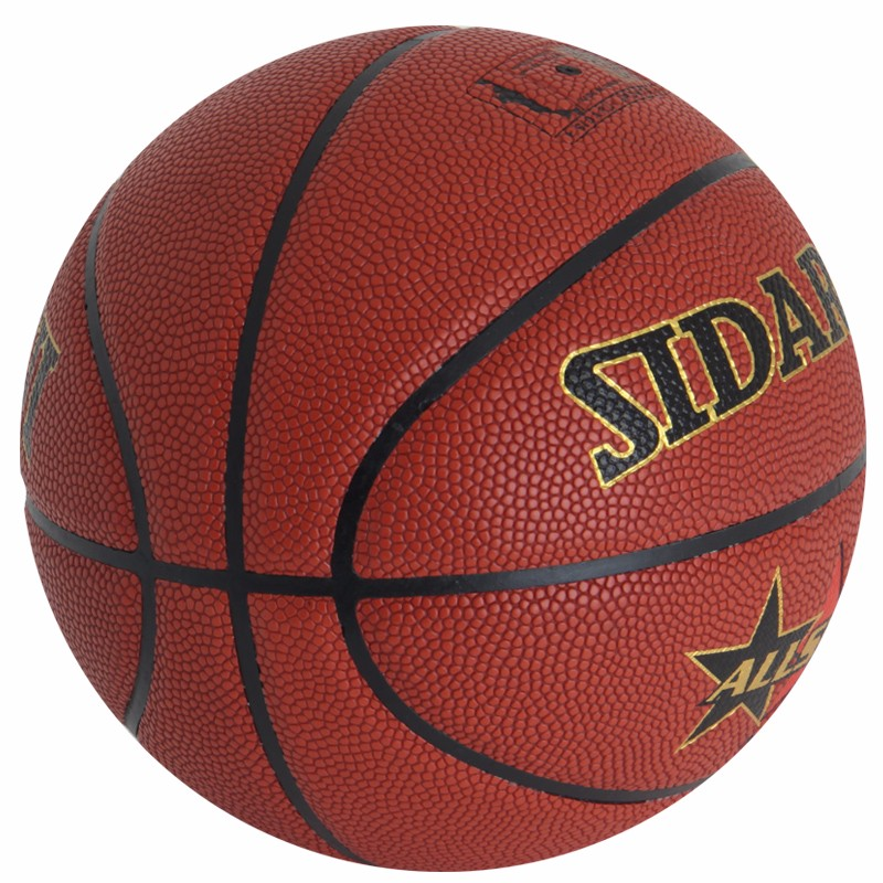 2017 new design Size 7 hand laminated pu training Basketball
