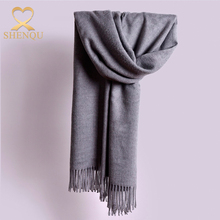 2017 new products winter women warm scarf kashmir pashmina shawl fringed wraps thick cashmere scarf