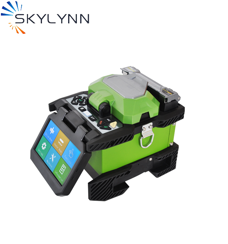 Fiber Optic Equipments New Design Small Size Lightweight Core Alignment Ftth Fiber Optic Fusion Instrument Mfs T60 Splicer Single Fiber Fusion Splicer Dependable Performance Communication Equipments