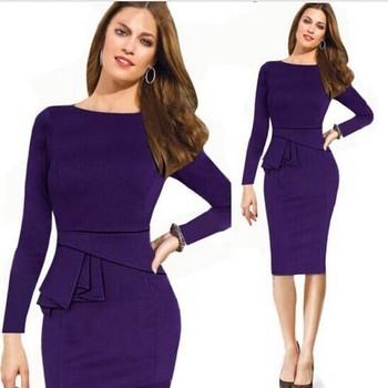 787707c64c3e Business Women Dress Ladies Latest Formal Dress Patterns - Buy ...