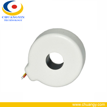 Round DC immunity Metal Shield 100A Current Transformer