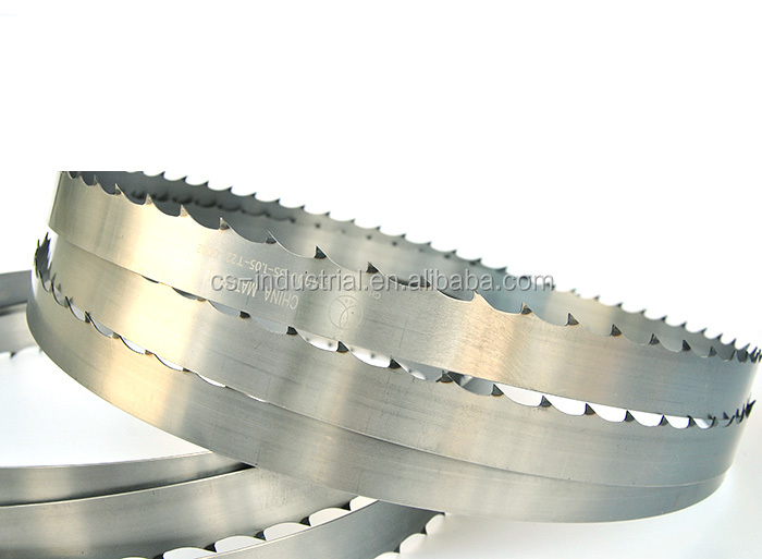 sawmill wood factory cutting coil loop bandsaw blade