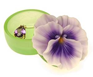 Pansy Keepsake Box by Ibis & Orchid #13001