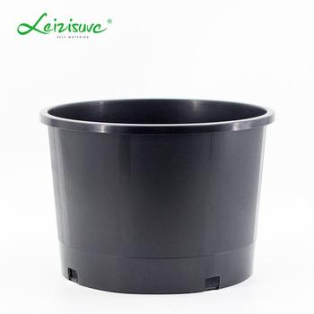 Large Quany Black Pots Plant Nursery Pp