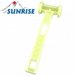 83034-L#high quality glow in the dark plastic outdoor mallet
