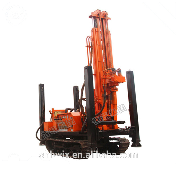 surface dth drilling rig high performance crawler type limestone drilling rig rock bore hole drilling machine