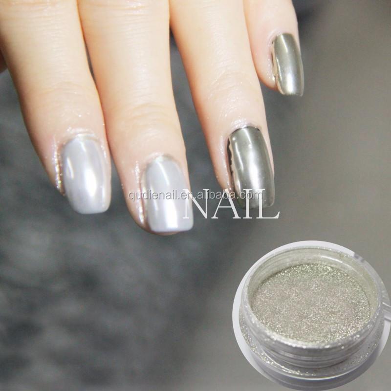 Cromo Espejo En Polvo Para Espejo Nails Efecto Espejo Polvo Pigmento ...