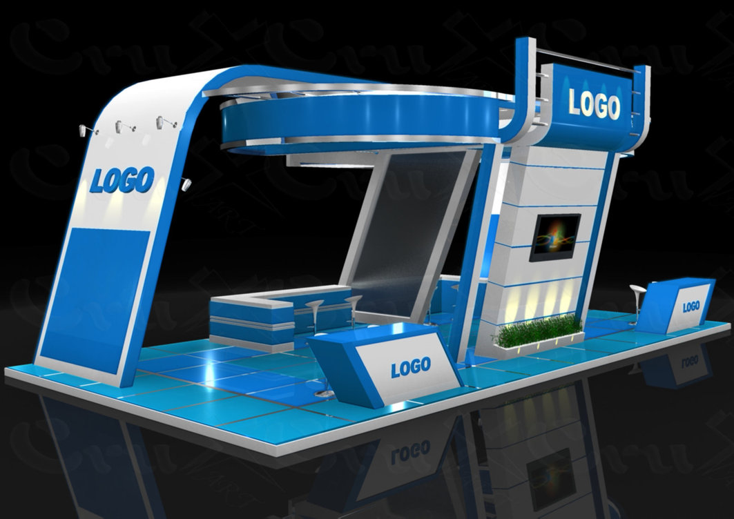 Exhibition Stand 3d Model Free Download : Display exhibition stand display solutions from t systems