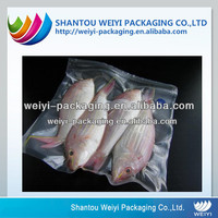 sealed plastic food package vacuum rolls for frozen fishing sea food