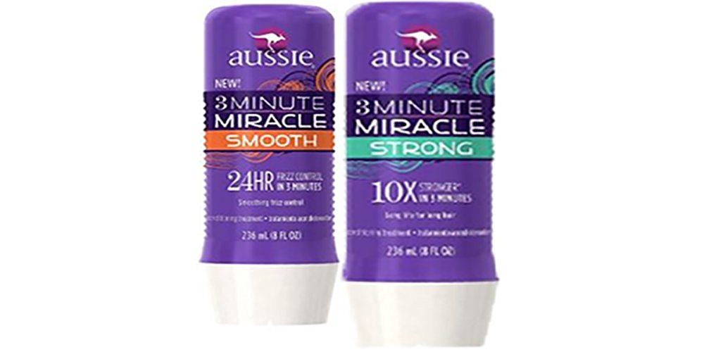 Aussie 3 Minute Miracle Strong Conditioner - Smooth Deep Conditioning Hair Treatment 8 Fl Oz (1 of each unit)