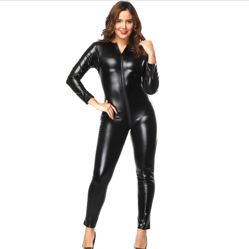 447d2061f7e0 China vinyl leather sexy catsuit wholesale 🇨🇳 - Alibaba
