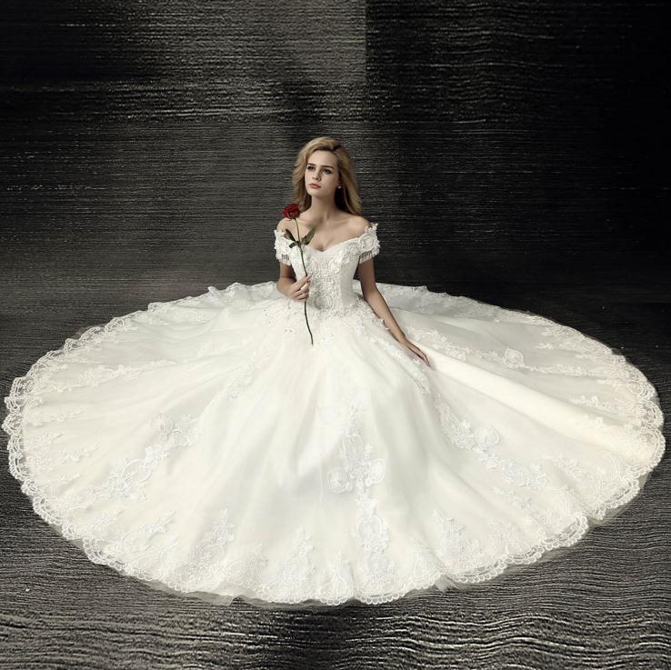 Venta al por mayor vestidos de novia estilo europeo-Compre online ...