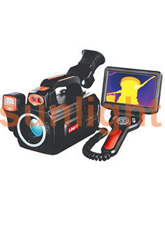 Infrared Thermal Imager, 640*480 Resolution, Infrared/Visible Light/Blend, -20 - +2000 Degree Centigrade SL640B