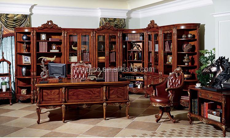Ufficio Vintage Stile : Vintage stile classico scrivania direzionale lusso libreria e