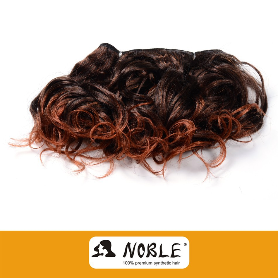 Rebecca Ombre Wholesale Synthetic Hair Extension Noble Chilli