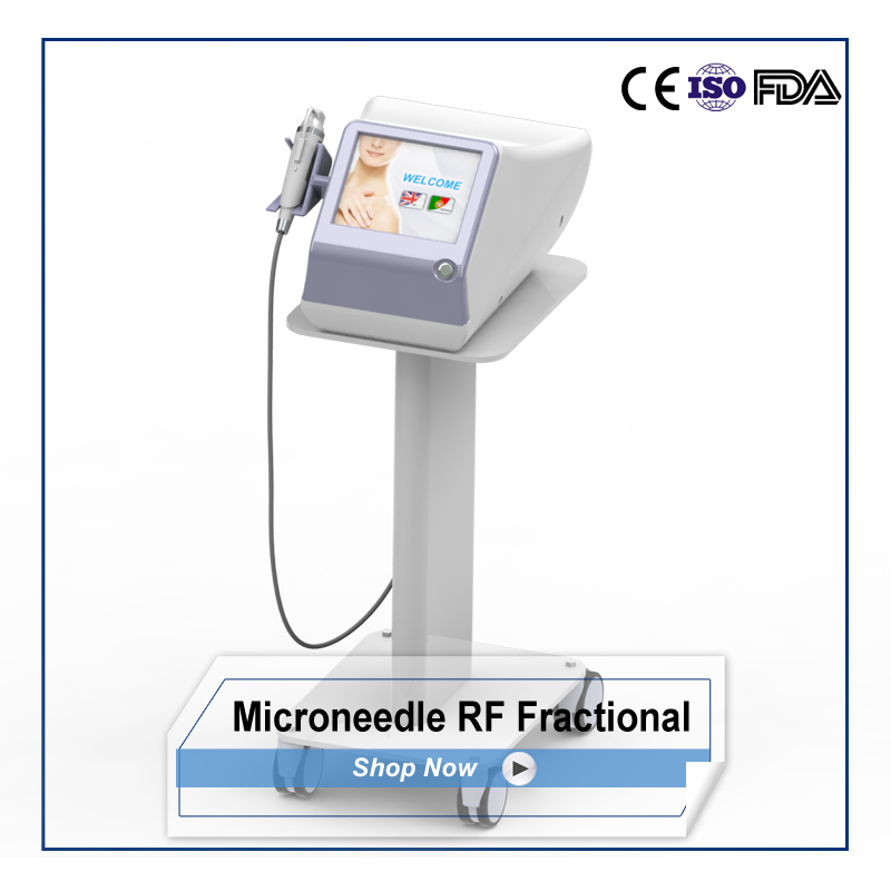 Golden Micro Needle Fractional RF wrinkle removal device