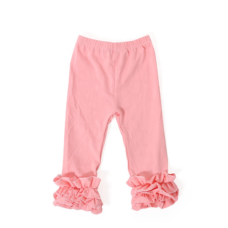 Wholesale stripes design baby clothes boutique icing pants baby kids legging