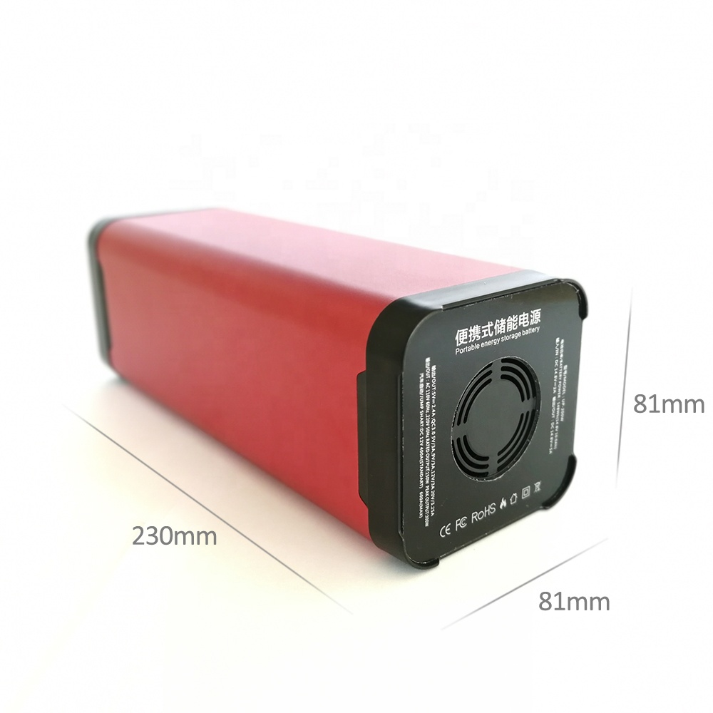 150Wh <strong>AC</strong> 110V/220V Output Power Bank 40000mah Portable Power Station Storage Battery for Outdoor