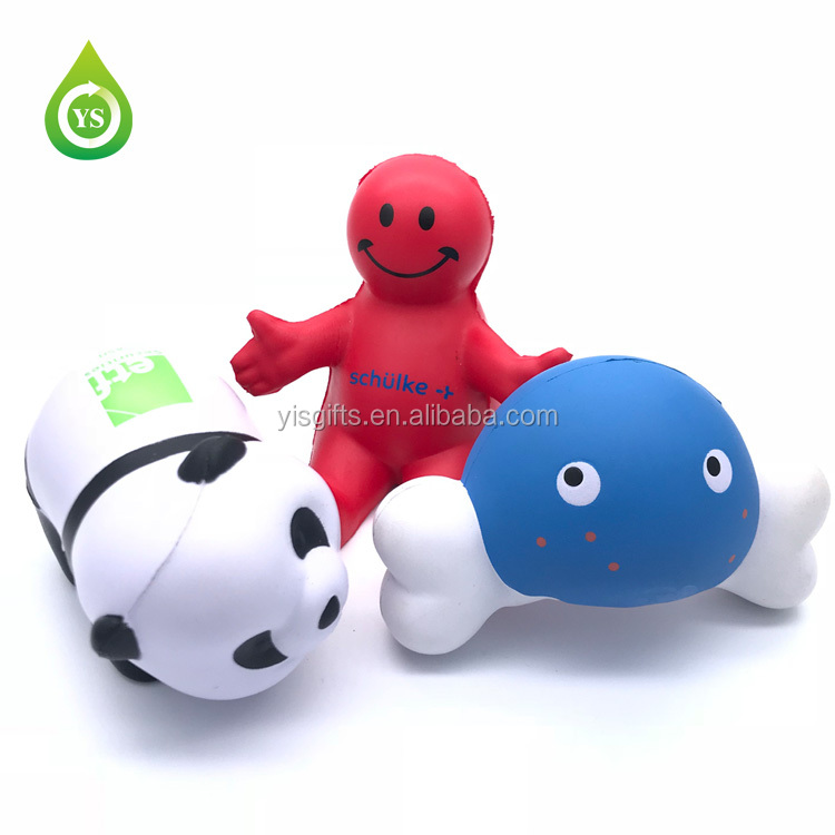 PU Schaum Flugzeug geformt reliever, anti stress ball