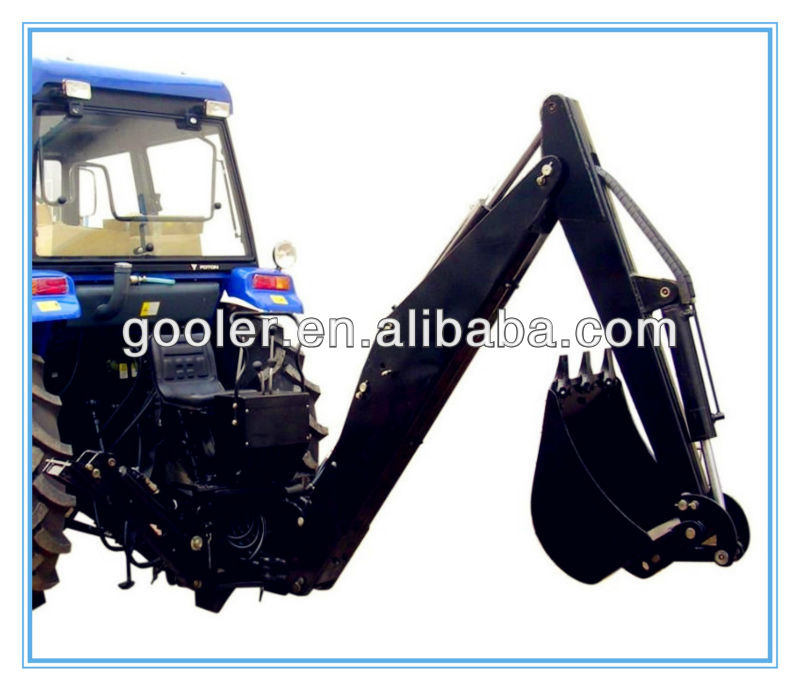 Backhoe LW-6, LW-7, LW-8 fit with Tractor, gear pump