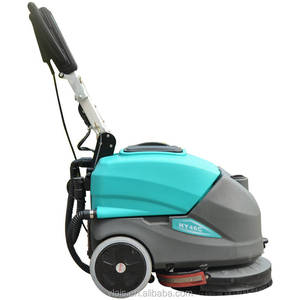 Floor scrubber HY45C Srubber with cable automatic floor scrubber, Electric Handheld Sweeper