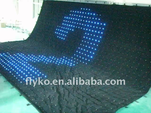flexible LED curtain 2012 HOT