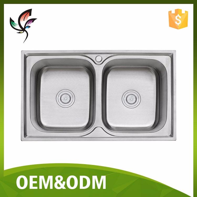 Stainless Steel Sinks In Pakistan : ... bowl black onyx granite kitchen sink double bowl sinks amazoncom