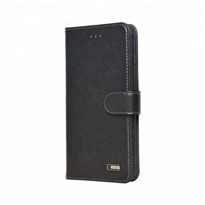 Real Genuine Casing Mobile Flip Wallet Leather Phone Cover Plus For Iphone 7 8 10 X Case For Apple