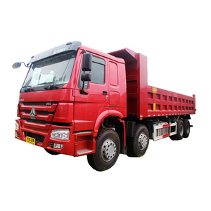 Vehicle with Heavy 8x4 Truck Sinotruk HOWO 4 Axle Dump Truck For Sale