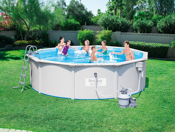 15ft X48in Hydrium Oval Shape Steel Wall Pool Sale,Bestway Steel Wall Above  Ground Pools For Sale - Buy Steel Wall Above Ground Pools,Above Ground ...