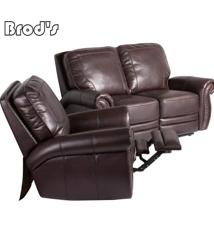 Living room fabric recliner single sofa home theater for Single seats for living room