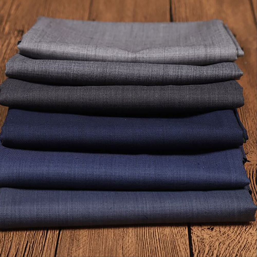 merino wool polyester blended fabric for women coating