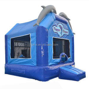commercial grade flipper dipper inflatable bouncer/ jumping bouncy castle/ bounce house jumper moonwalk trampoline with factory