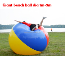 Promotion top Quality customized Logo Printed Inflatable outdoor Giant Beach ball