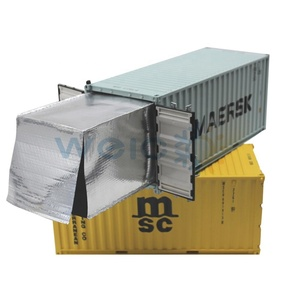 Waterproof bubble insulation blanket, thermal insulation container foil woven liner for bulk wine containers